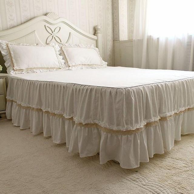 100% Cotton Plain Bed Covers