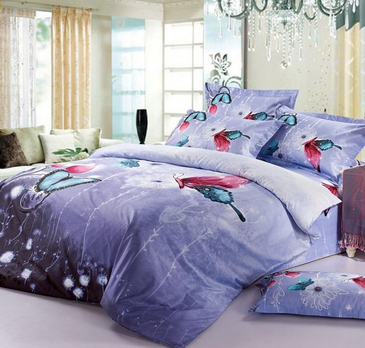 100% Cotton Printed Bedding Sets - 5