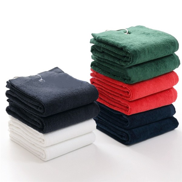 100% Cotton Square Plain Towels