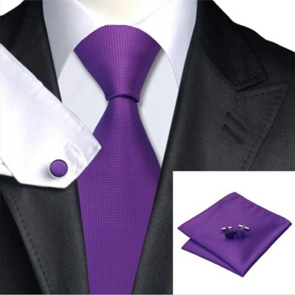 100% Jacquard Woven Classic Men Tie Sets