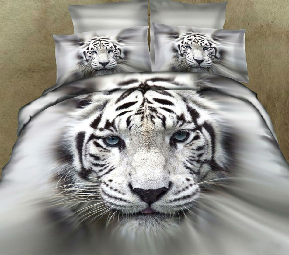 Animal Printed Cotton Bedding Sets