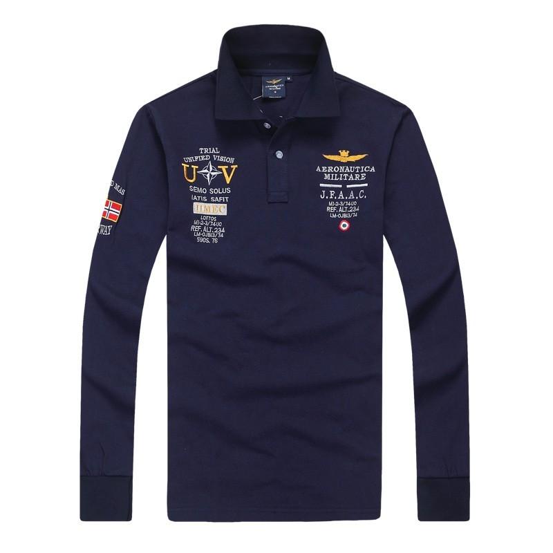 Best Quality Mens Long Sleeve Polo Tshirts