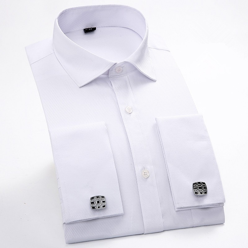 Casual Mens Slim Fit Cotton Shirts