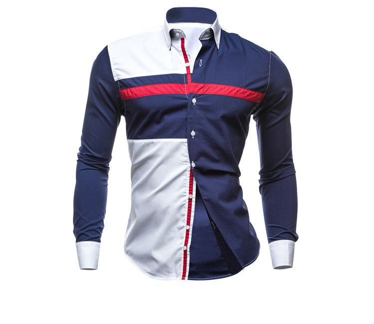 Casual Slim Fit Mens Cotton Shirts