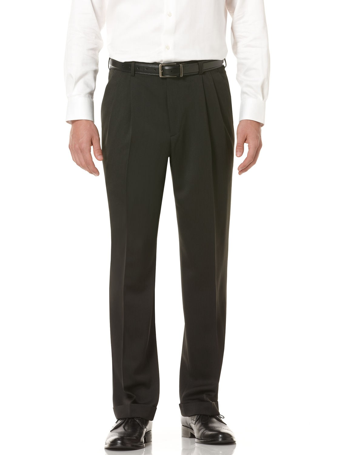 Double Pleat Formal Pants