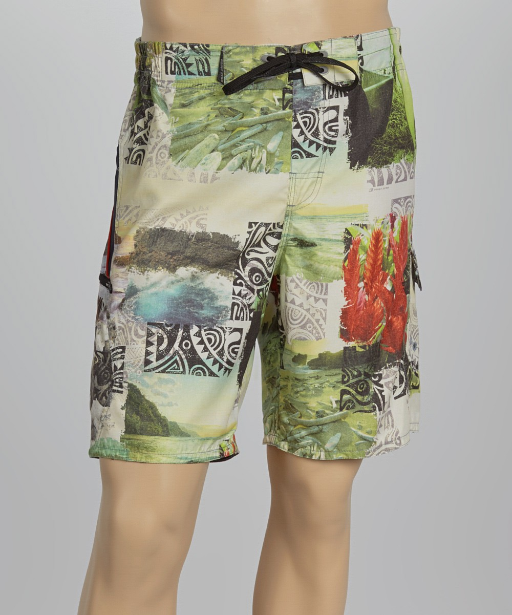 Polyster Beach Shorts