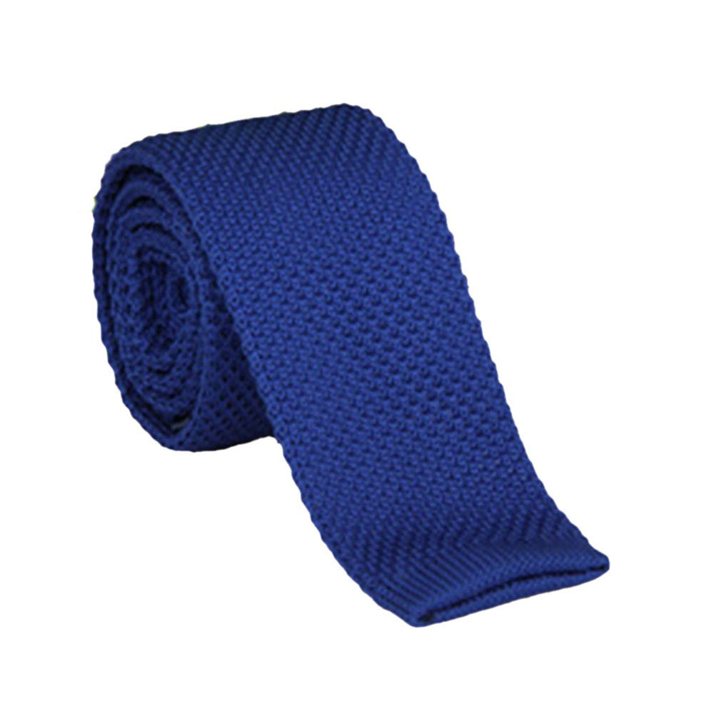 Mens Fashion Narrow Skinny Knitted Ties