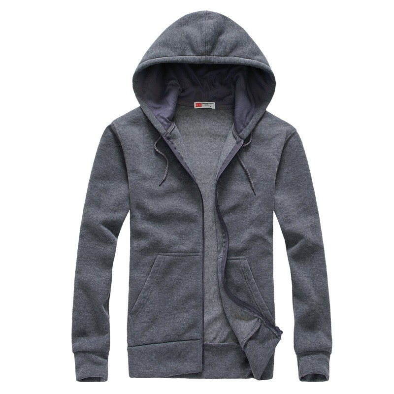 Mens Fashion Slim Fit Hooded Sweatshirts