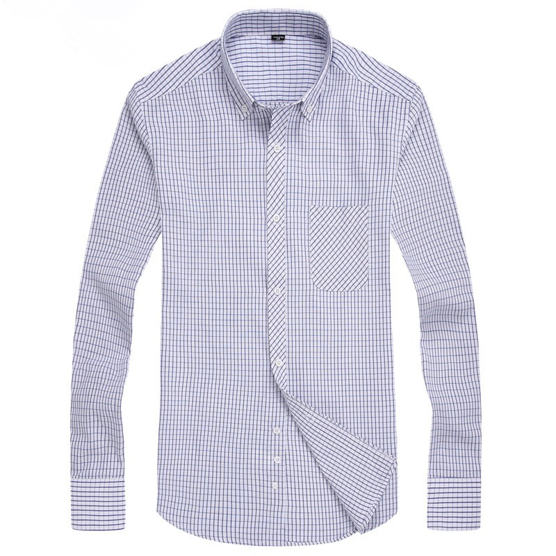 Mens High Quality Cotton Striped Casual Shirts