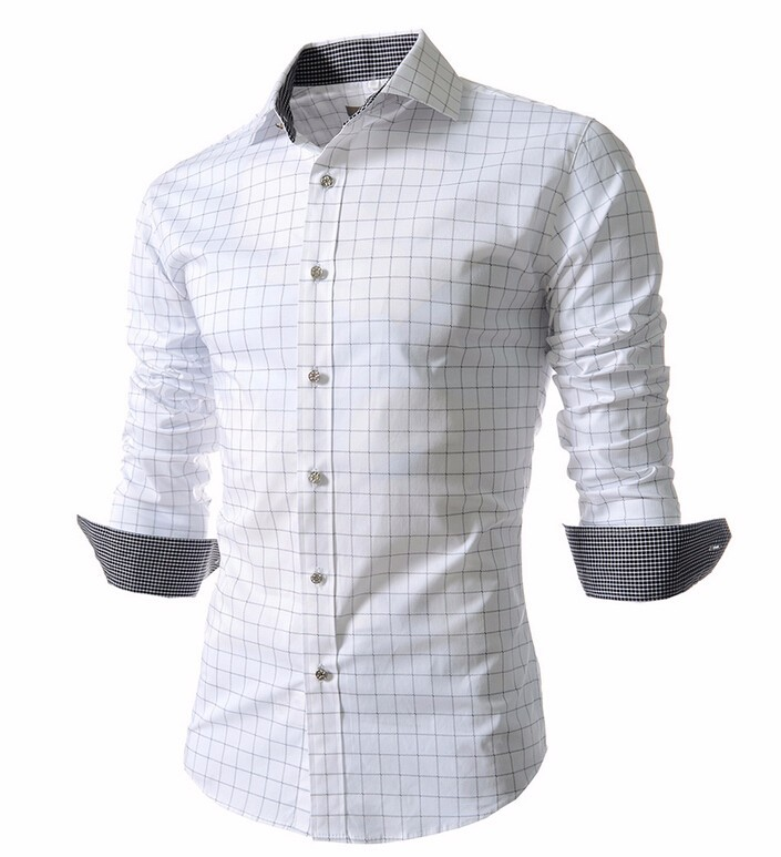 Mens New High Quality Long Sleeve Shirts