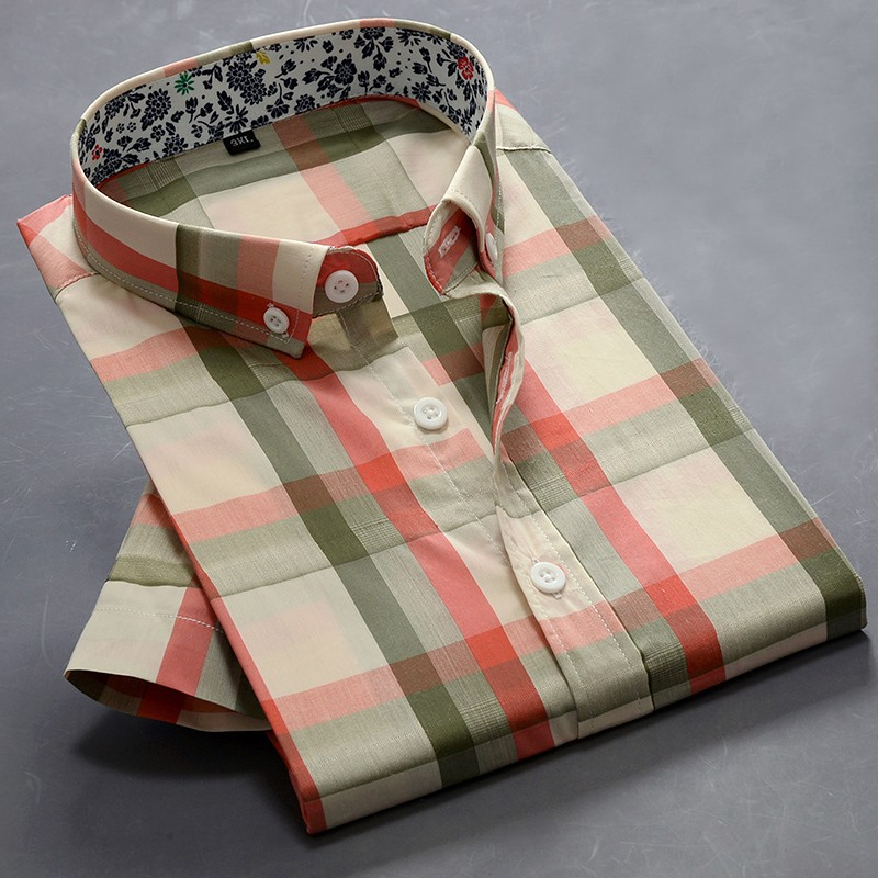 Mens Short Sleeve Striped Shirts