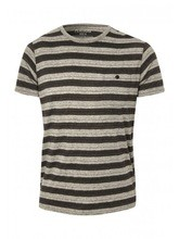 Mens Stripe Short Sleeve T-Shirt