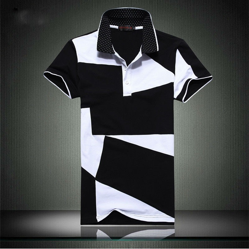 Mens Stylish Short Sleeve Casual Polos