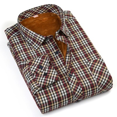 Mens Supper Soft Plaid Casual Shirts