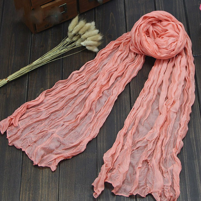 Multicolored Women Winter Fashion Long Scarves