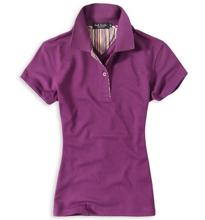 New Arrival Square Collar Women Polo Tshirts