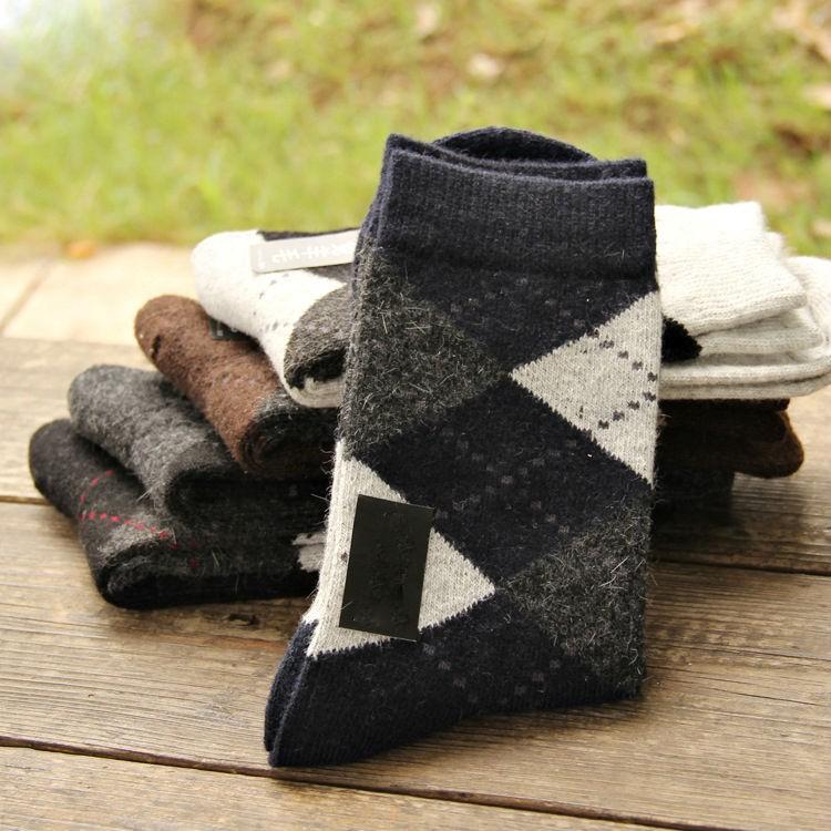 New Arrival Winter Warm Wool Men Socks