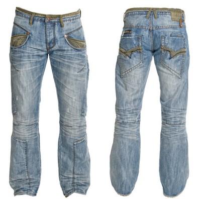 Stone Wash Sand Blast Jeans
