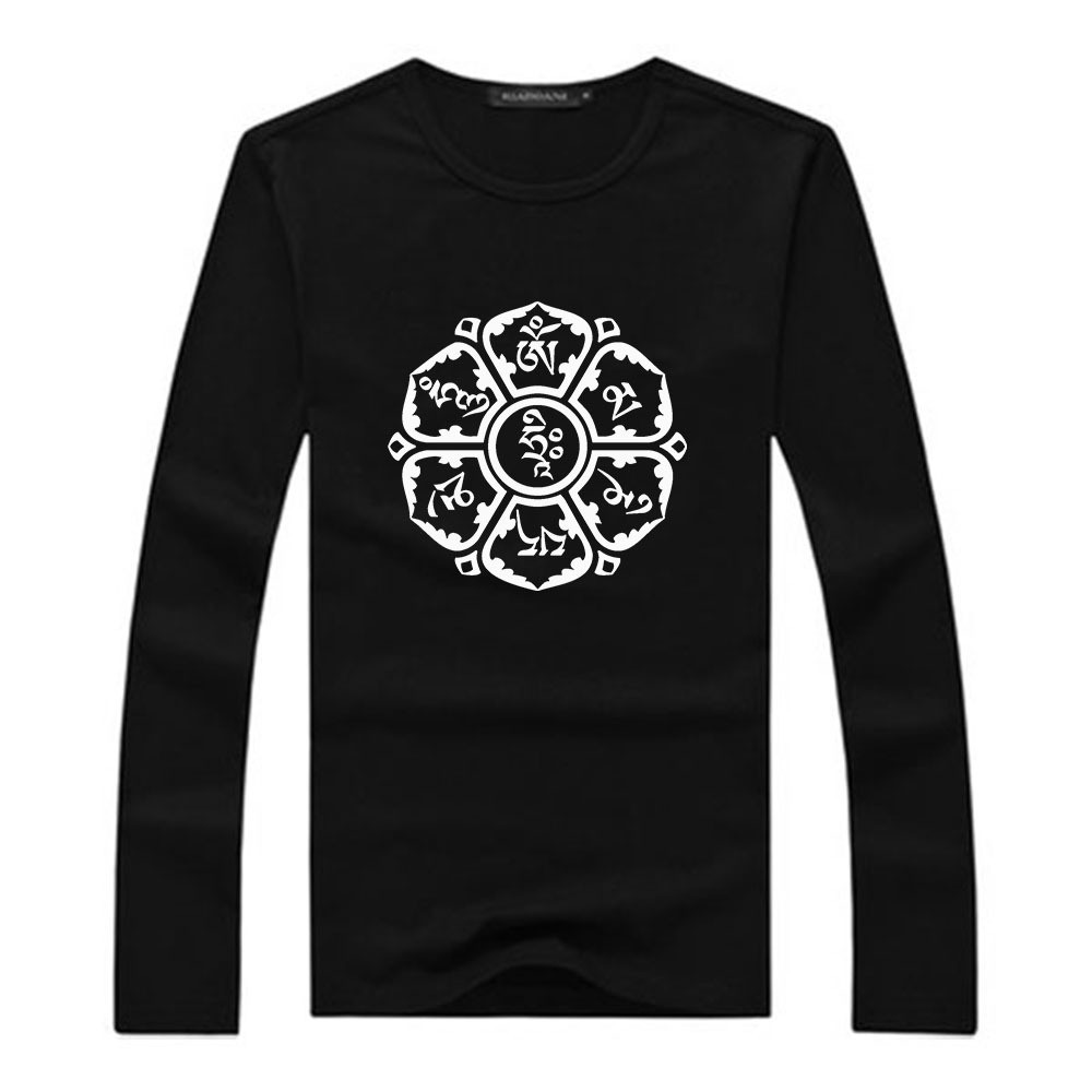 Stylish Long Sleeve O Neck Cotton Tshirts
