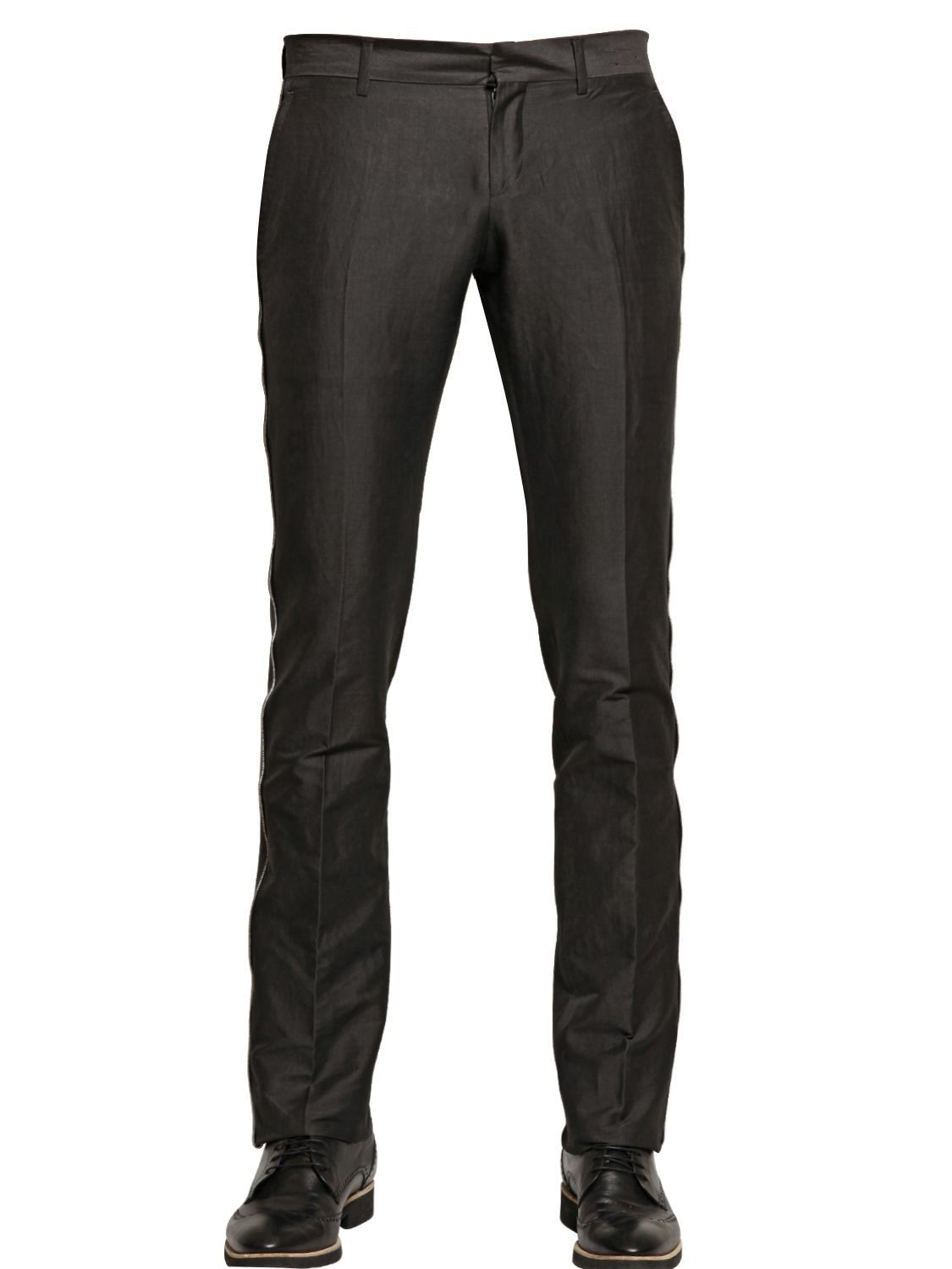 Mens Formal Stylish Trousers Front
