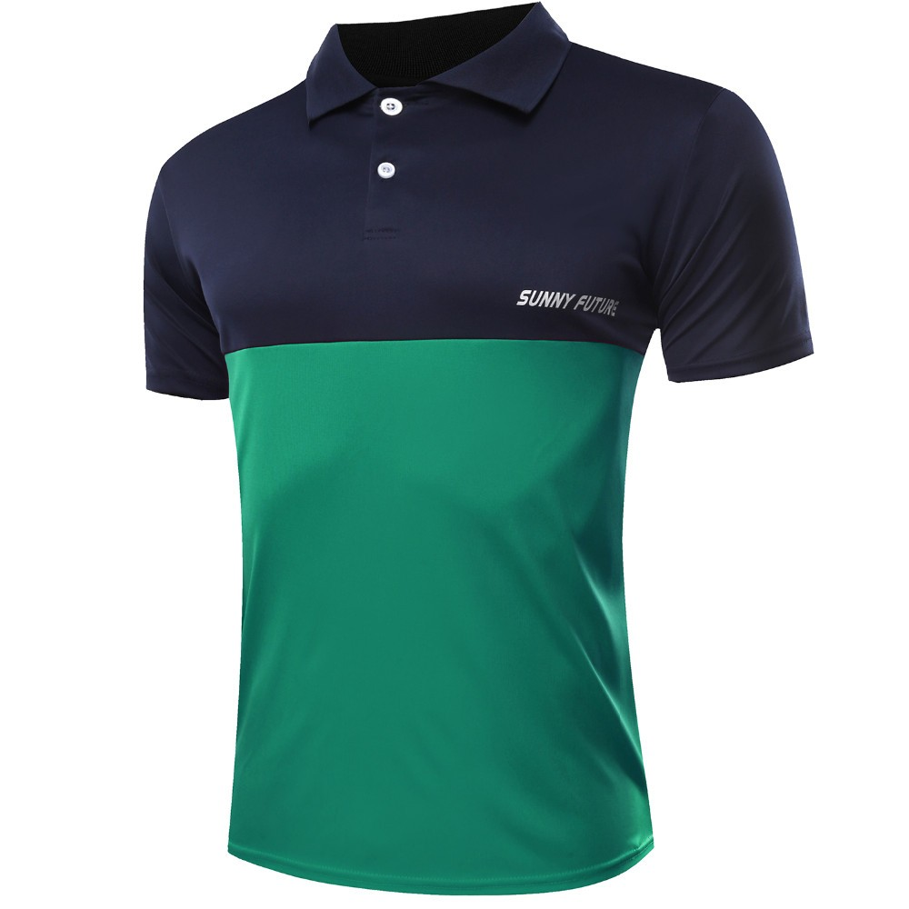 Unique Mens Short Sleeve Sports Polos