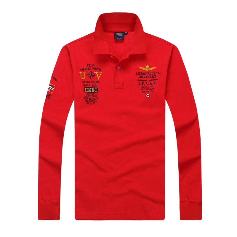 Best Quality Mens Long Sleeve Polo Tshirts Creative India