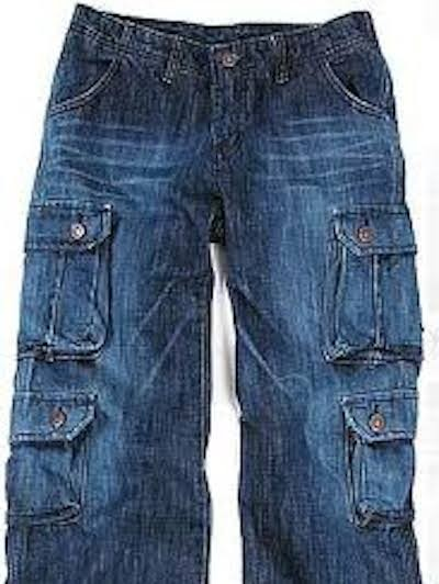 Mens Denim Cargo Jeans Creative India Exports