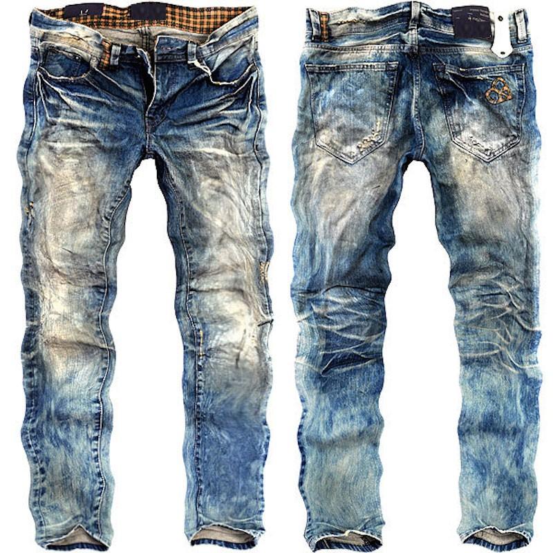 Washed Jeans For Men