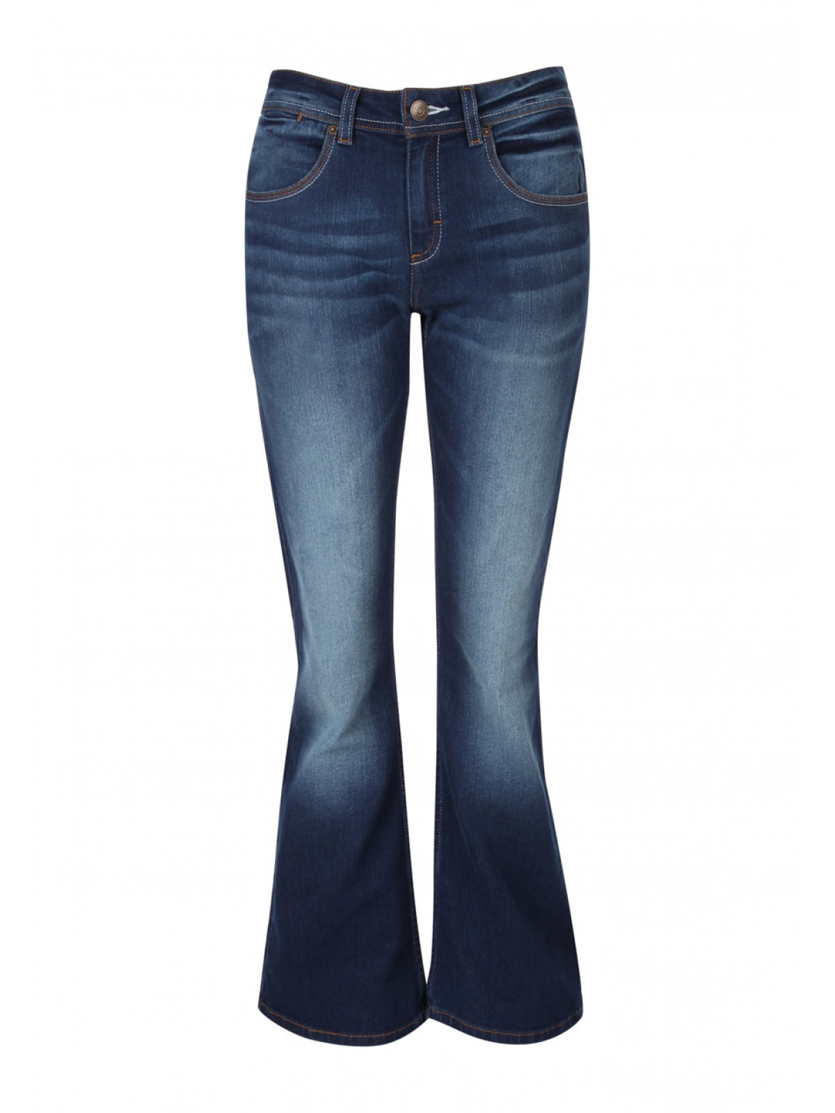ba5d3a36b5c5a Dark Blue Boot Cut Jeans. Women Jeans Boot cut
