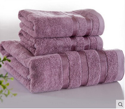 High Quality Cotton Towels Set 3 Pcs Creative India Exports