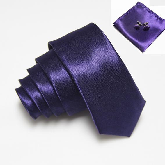 High Quality Mens Fashion Slim Neck Tie Sets