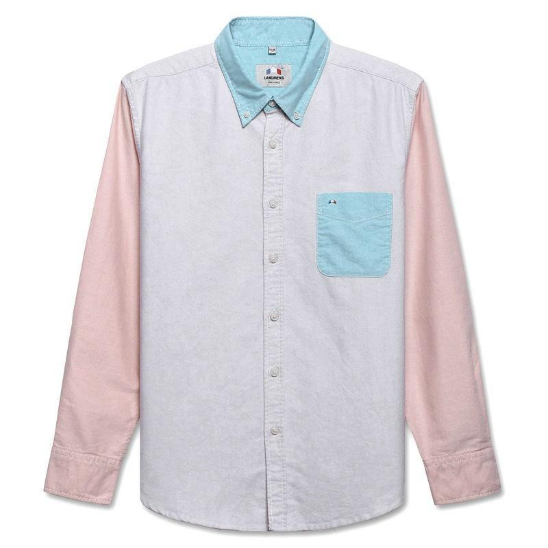 Mens 100 Cotton Solid Long Sleeve Shirts Creative India