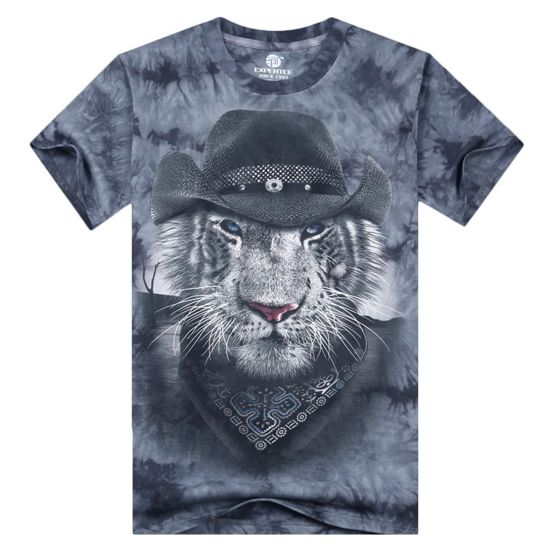 Mens Wide Neck T Shirts