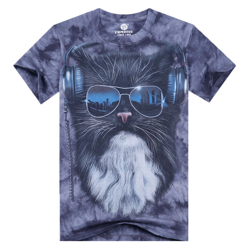 Mens 3d printed cotton casual tshirts creative india exports for T shirt printing stonecrest mall