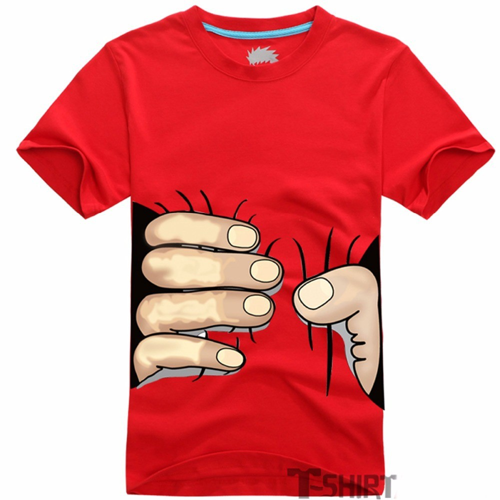 Mens big hand 3d fashion cotton tshirts creative india exports for Mens t shirts for sale
