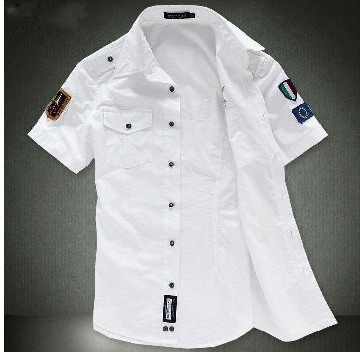 Mens Cotton Short Sleeve Casual Shirts Creative India Exports