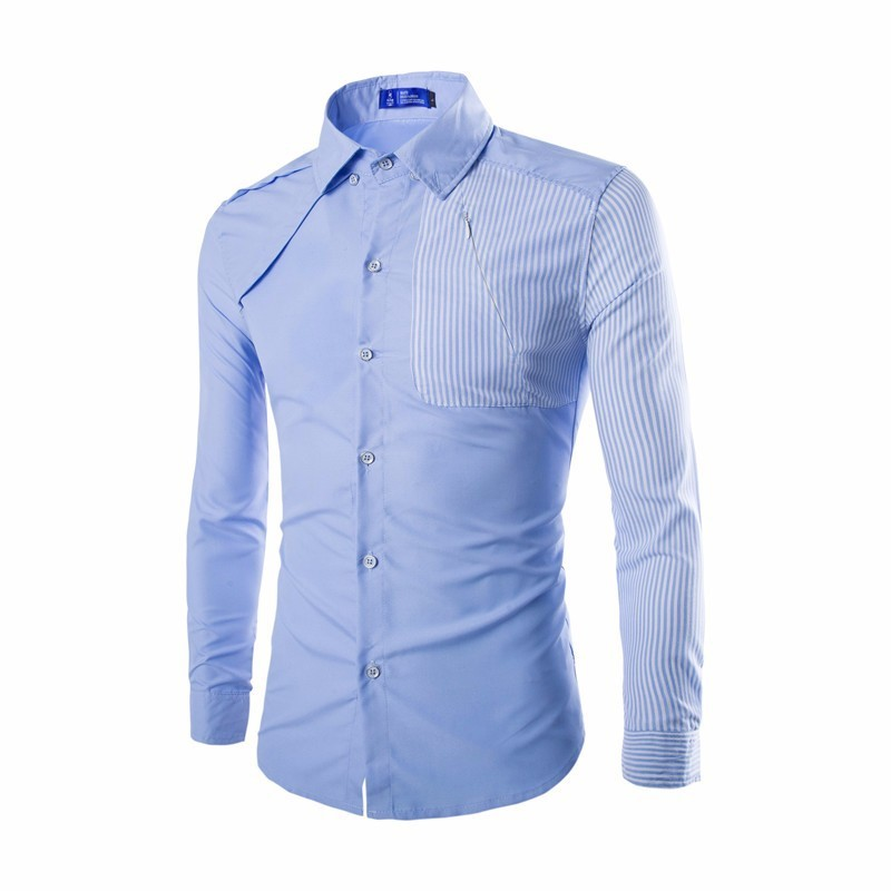 Shop for men's slim fit dress shirts & athletic fit dress shirts. Get the latest styles, brands & colors in men's fitted dress shirts at Men's Wearhouse. While a traditional dress shirt is designed to fall straight from armhole to hem, a slim fit shirt is tapered with more crescent-like curves. This ensures the waist is narrower than the.