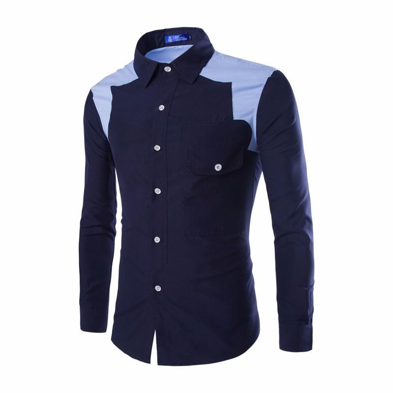 Mens cross line slim fit dress shirts creative india exports for Mens slim fit dress shirts