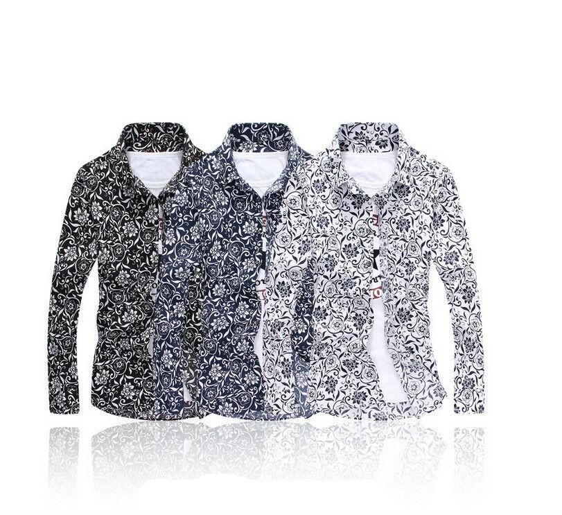 Floral Shirt Design | Mens Floral Flower Design Cotton Shirts Creative India Exports