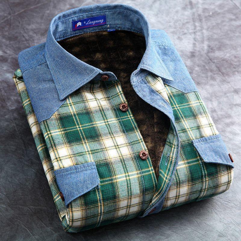 Mens long sleeve slim fit flannel shirts creative india for Mens long sleeve flannel shirts