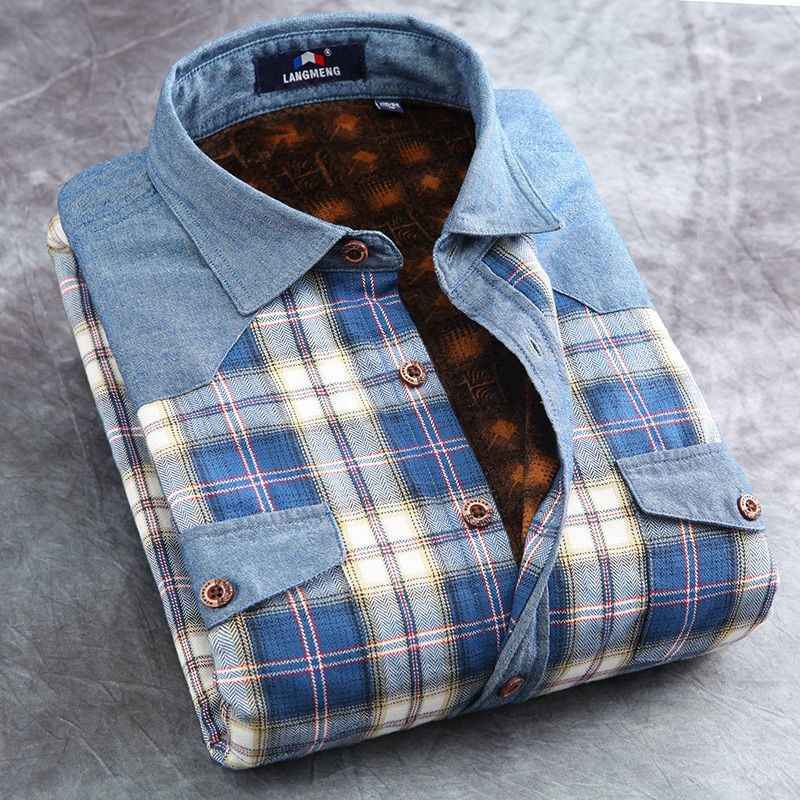 03687e8179 Mens Long Sleeve Slim Fit Flannel Shirts Creative India Exports