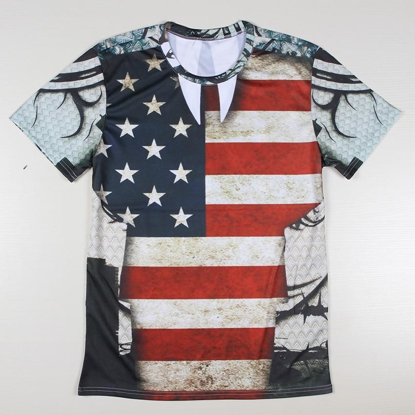 Mens multi printed 3d casual tshirts creative india exports for T shirt printing usa