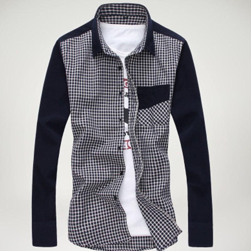 Mens New Slim Fit Plaid Casual Shirts Creative India Exports