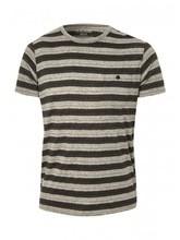 Mens Stripe Short Sleeve T-Shirt
