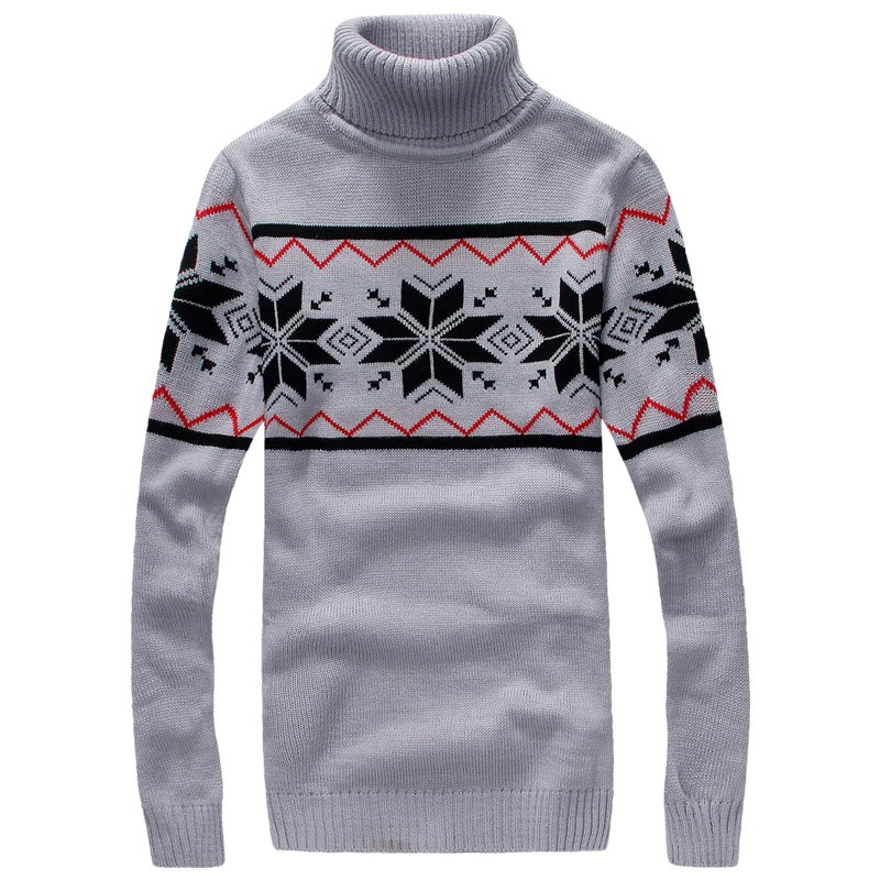 Mens Winter Pullover Turtleneck Sweaters Creative India Exports
