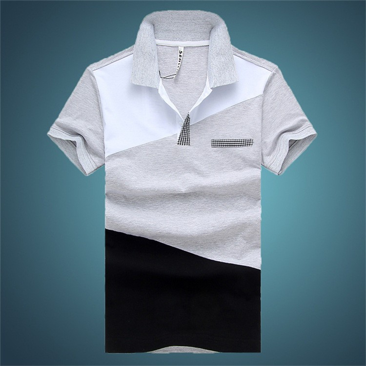 New Pattern Slim Fit Cotton Polo Tshirts