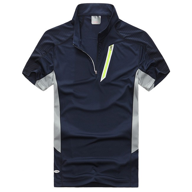 Quick Drying Outdoor Travel Mens Polos