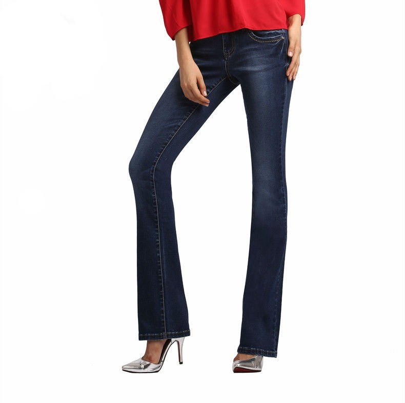 Womens Bell Bottom Skinny Jeans Creative India Exports