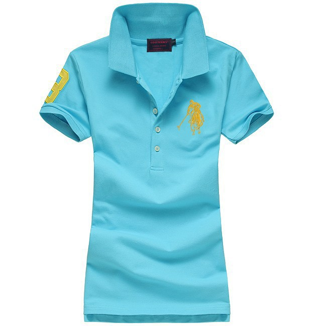 Womens Cotton Short Sleeve Polo Shirts Creative India Exports