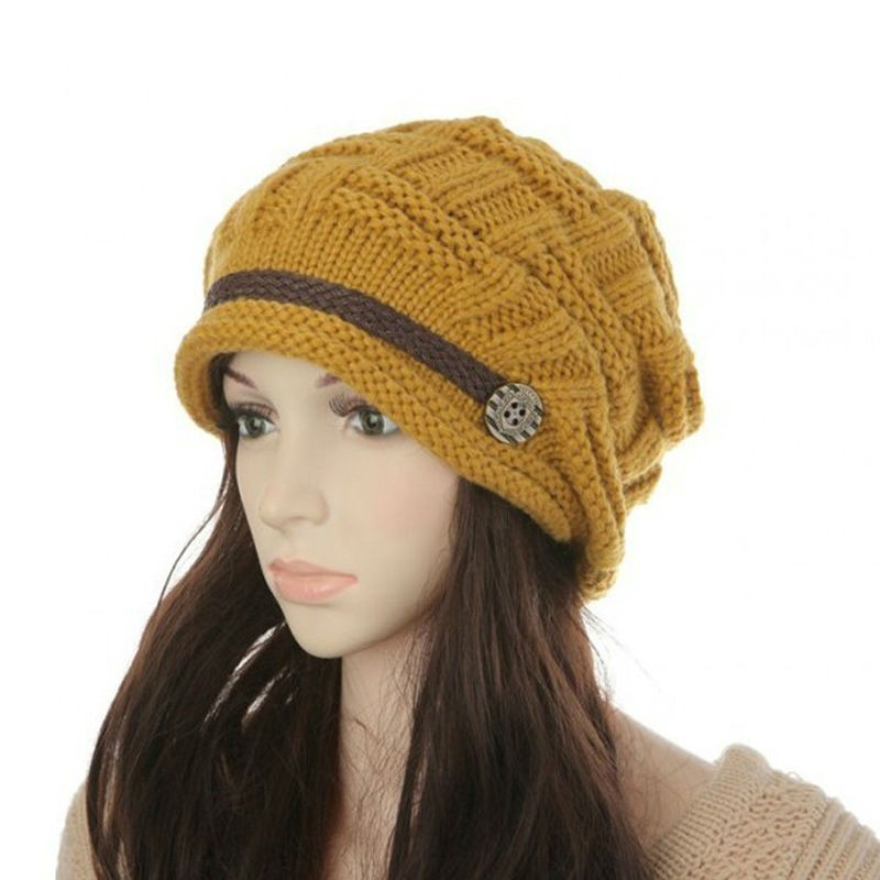 Womens Fashion Thermal Knitted Winter Hats Creative India Exports 796132f5acb